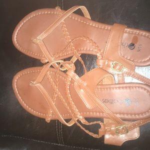 Brown chatties Sandals